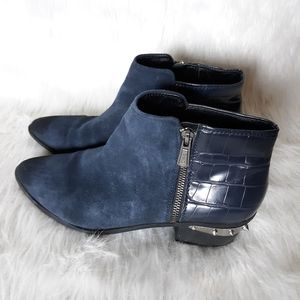 Circus by Sam Edelman Blue Suede Boots SZ 10M